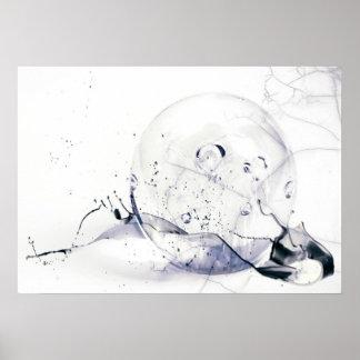 GlassGlobe II Posterdruck