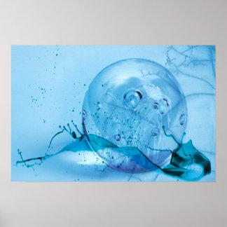 GlassGlobe Plakatdrucke