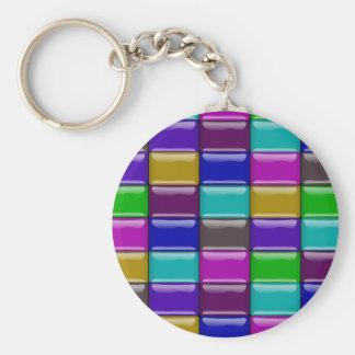 """""""Glassy tiles"""" keychain"""