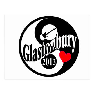 Glastonbury 2013 postcard