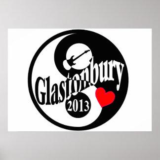 Glastonbury 2013 poster