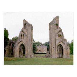 Glastonbury Abbey (1970s) Postcard