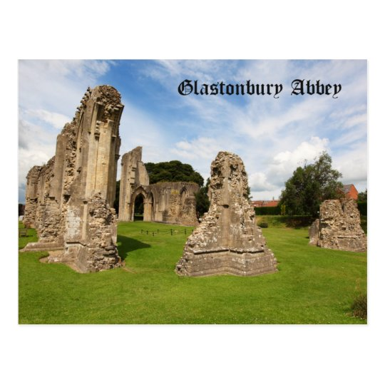 Glastonbury Abbey Postcard