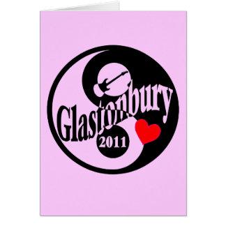 Glastonbury Card