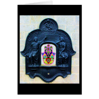 Glastonbury Hamsa Card