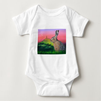 Glastonbury Hare Baby Bodysuit