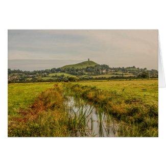 Glastonbury Marsh Card