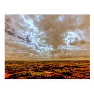Glastonbury Postcard