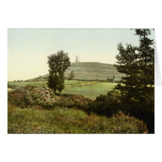 Glastonbury Tor, Somerset, England Card