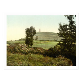 Glastonbury Tor, Somerset, England Postcard