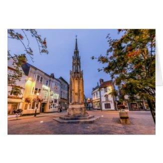 Glastonbury Town Centre Card