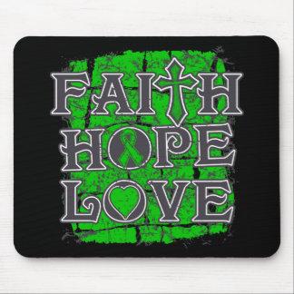 Glaucoma Faith Hope Love Mousepad
