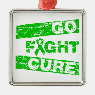 Glaucoma Go Fight Cure Christmas Tree Ornaments