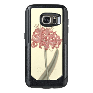 Glaucous Leaved Amaryllis Botanical Illustration OtterBox Samsung Galaxy S7 Case