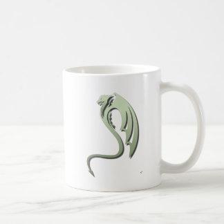 Glaurung the Metallic Green Dragon Coffee Mug