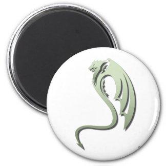 Glaurung the Metallic Green Dragon Magnet