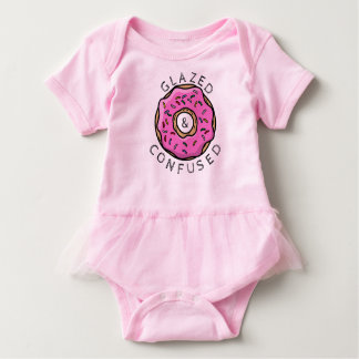 Glazed and Confused Baby Tutu Baby Bodysuit