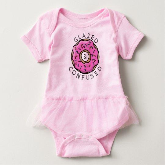 Glazed and Confused Baby Tutu Baby Bodysuit