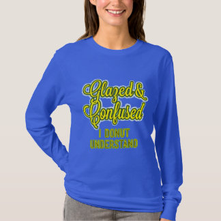 Glazed and Confused – I Donut Understand T-Shirt