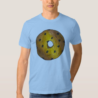 Glazed Blueberry Cake Donut Doughnut Donuts Tee