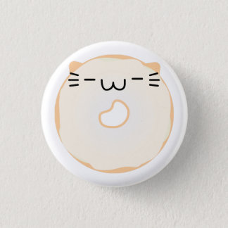 Glazed Cat Donut Button