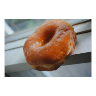 Glazed Doughnut Print