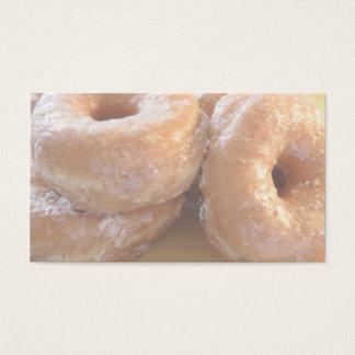 glazed doughnuts business card