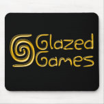 Glazed Games Mousepad - Black