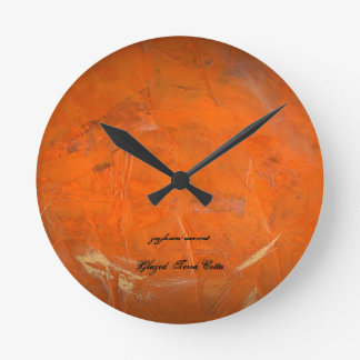 Glazed Terra Cotta Clocks