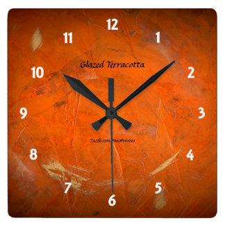 Glazed Terracotta Clock