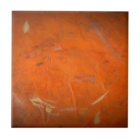Glazed Terracotta Faux Finish Tile