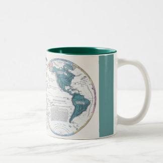 Glboal Map Mug