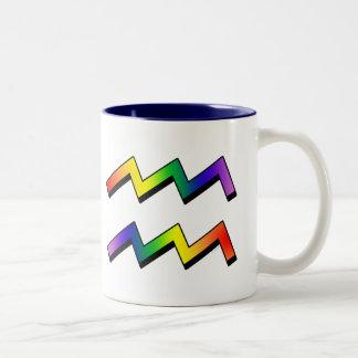GLBT Aquarius Coffee Mugs