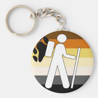 GLBT Bear Pride Hiking Key Chains