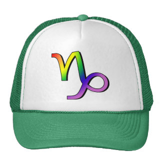 GLBT Capricorn Mesh Hats