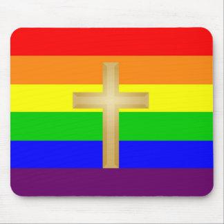 GLBT Christian Pride Mouse Pad