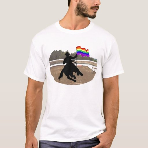 GLBT Cowboy Pride T-Shirt