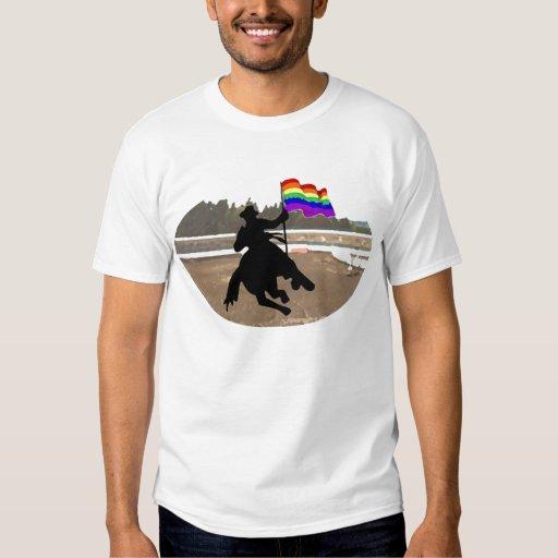 GLBT Cowboy Pride Tees