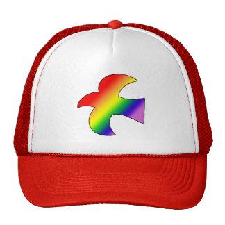 GLBT Dove Mesh Hats
