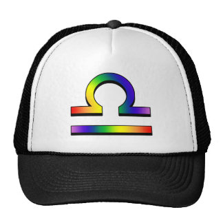 GLBT Libra Trucker Hat