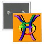 GLBT Pisces & Taurus Badges