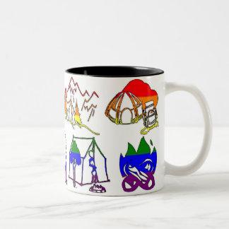 GLBT Pride Camper Mug