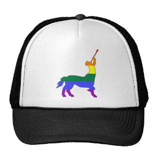 GLBT Pride Centaur 1 Mesh Hat
