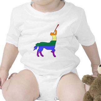 GLBT Pride Centaur #1 Romper