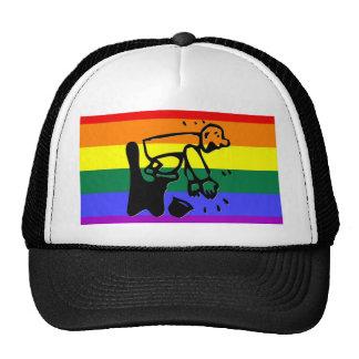 GLBT Pride Clapper Trucker Hats