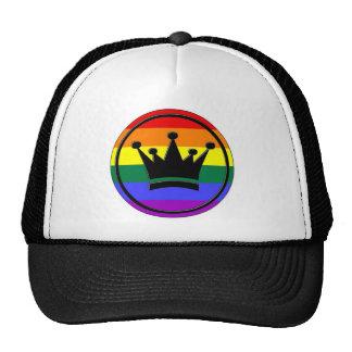 GLBT Pride Crown Trucker Hat