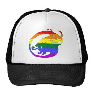 GLBT Pride Demon Trucker Hats