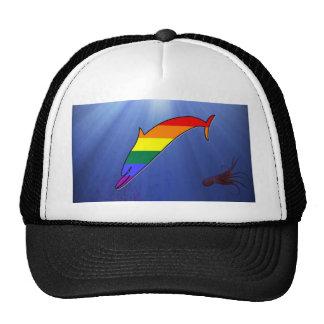 GLBT Pride Dolphin Mesh Hats