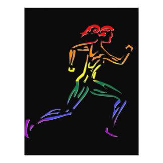 GLBT Pride Female Runner 21.5 Cm X 28 Cm Flyer