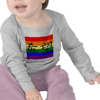 """GLBT Pride """"Hope"""" Tshirts"""